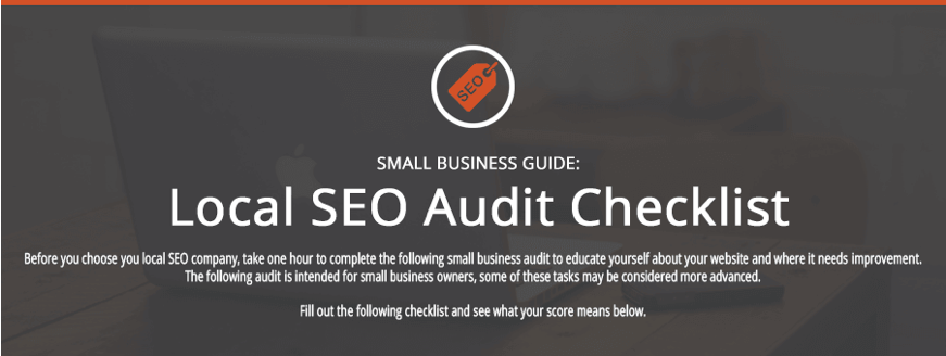 Local SEO Audit Checklist