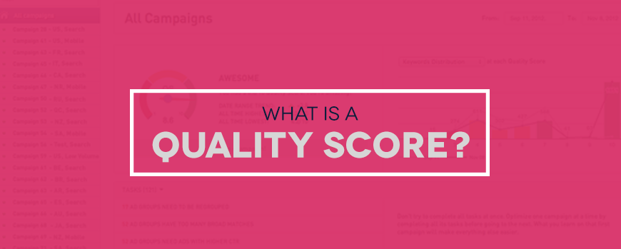 What Is A Quality Score?