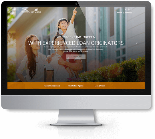 website design imac