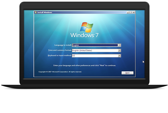 IT Services Windows 7